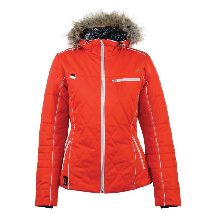 Dare2b-Ornate-Women-039-s-Waterproof-Breathable-Quilted-Ski-Jacket-Coat thumbnail 9
