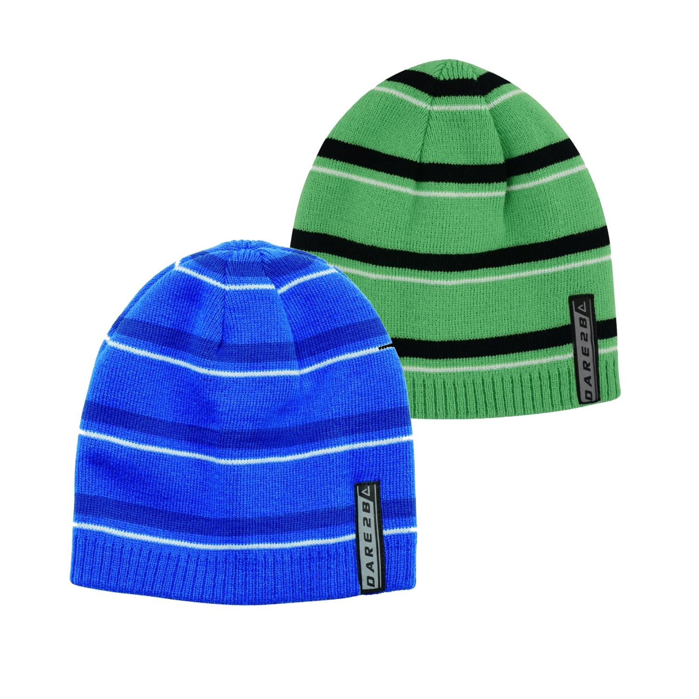 Dare 2b Girls Superflash Acrylic Knit Fleece Beanie Hat