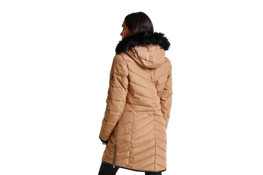 Dare2b-Lately-II-Women-039-s-Waterproof-Breathable-Parka-Jacket-Coat thumbnail 7