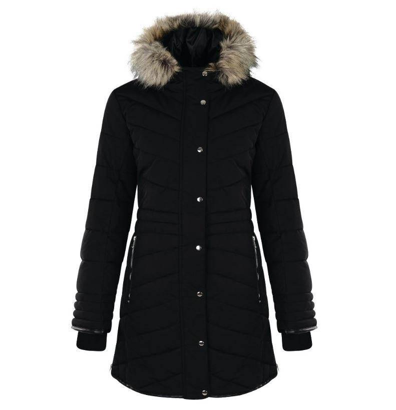 Dare2b-Lately-II-Women-039-s-Waterproof-Breathable-Parka-Jacket-Coat thumbnail 4