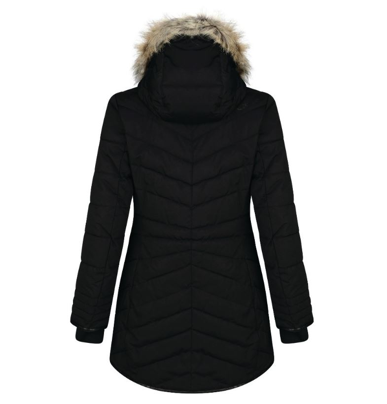 Dare2b-Lately-II-Women-039-s-Waterproof-Breathable-Parka-Jacket-Coat thumbnail 5