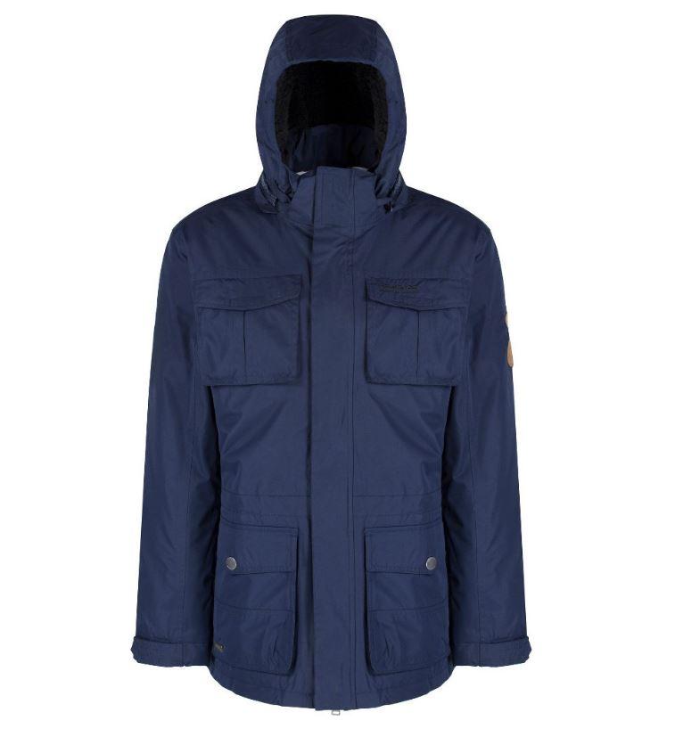 Regatta-Penkar-Mens-Waterproof-Windproof-Sherpa-Lined-Parka-Jacket thumbnail 9