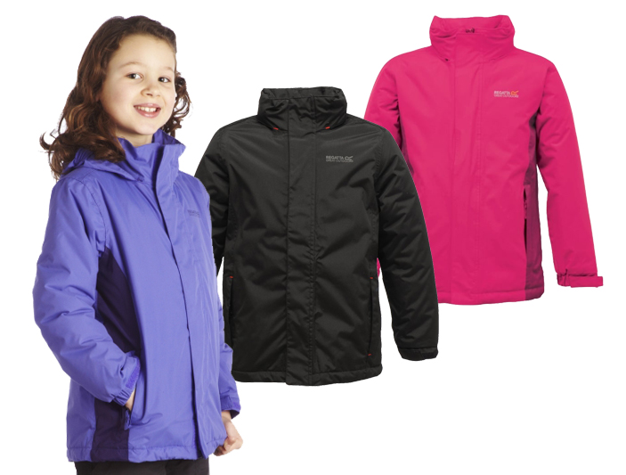 Regatta Great Outdoors Girls Beatrix Waterproof Jacket