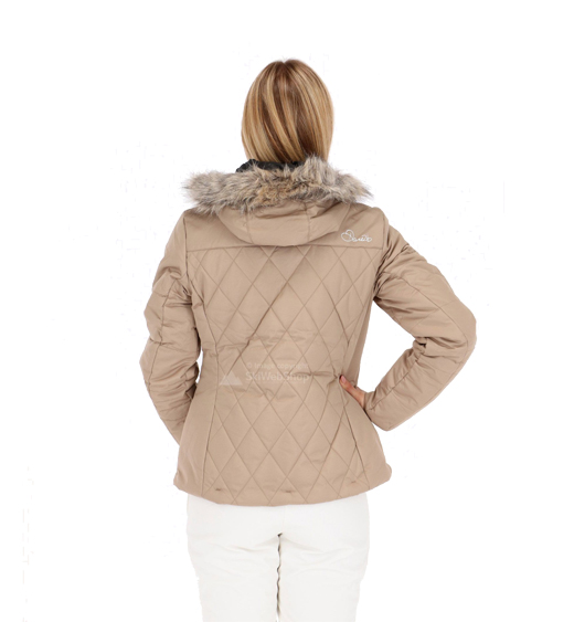 Dare2b-Ornate-Women-039-s-Waterproof-Breathable-Quilted-Ski-Jacket-Coat thumbnail 7