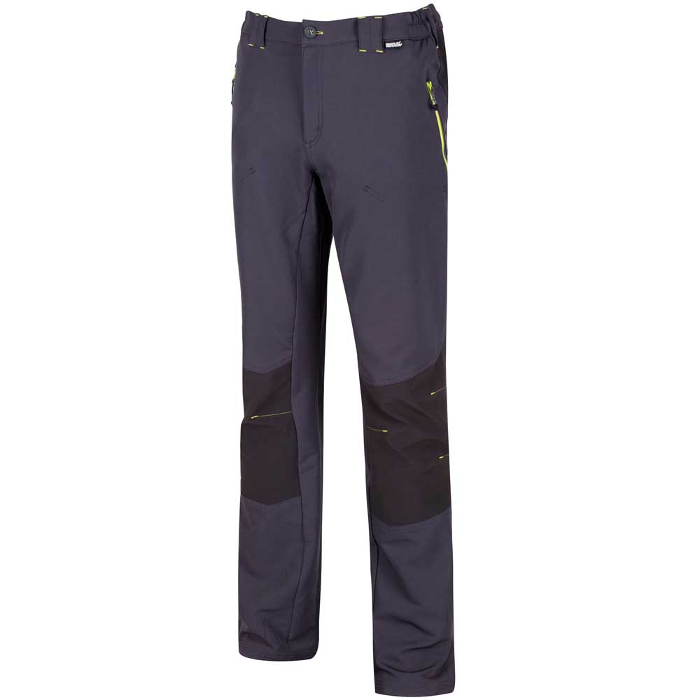 thumbnail 9 - Regatta Questra Mens Ripstop Knee Panel Softshell Walking Trousers RRP £80