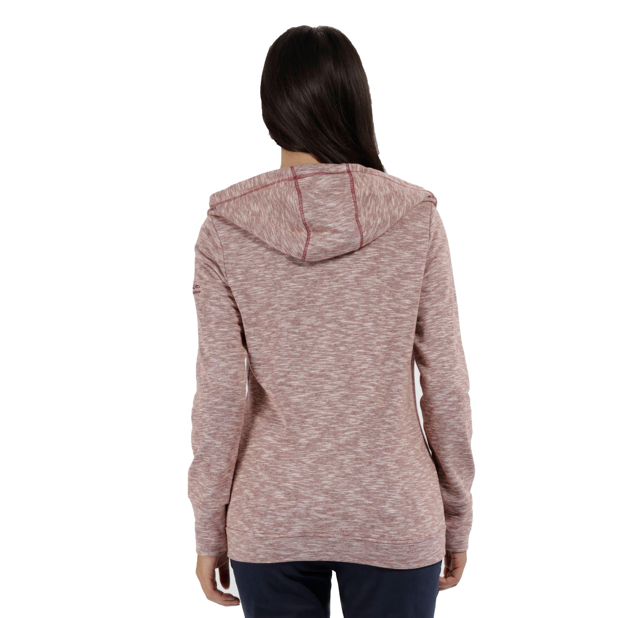Regatta-Ramosa-Womens-Full-Zip-Hoodie-Hooded-Fleece-Jacket-RRP-50 thumbnail 3