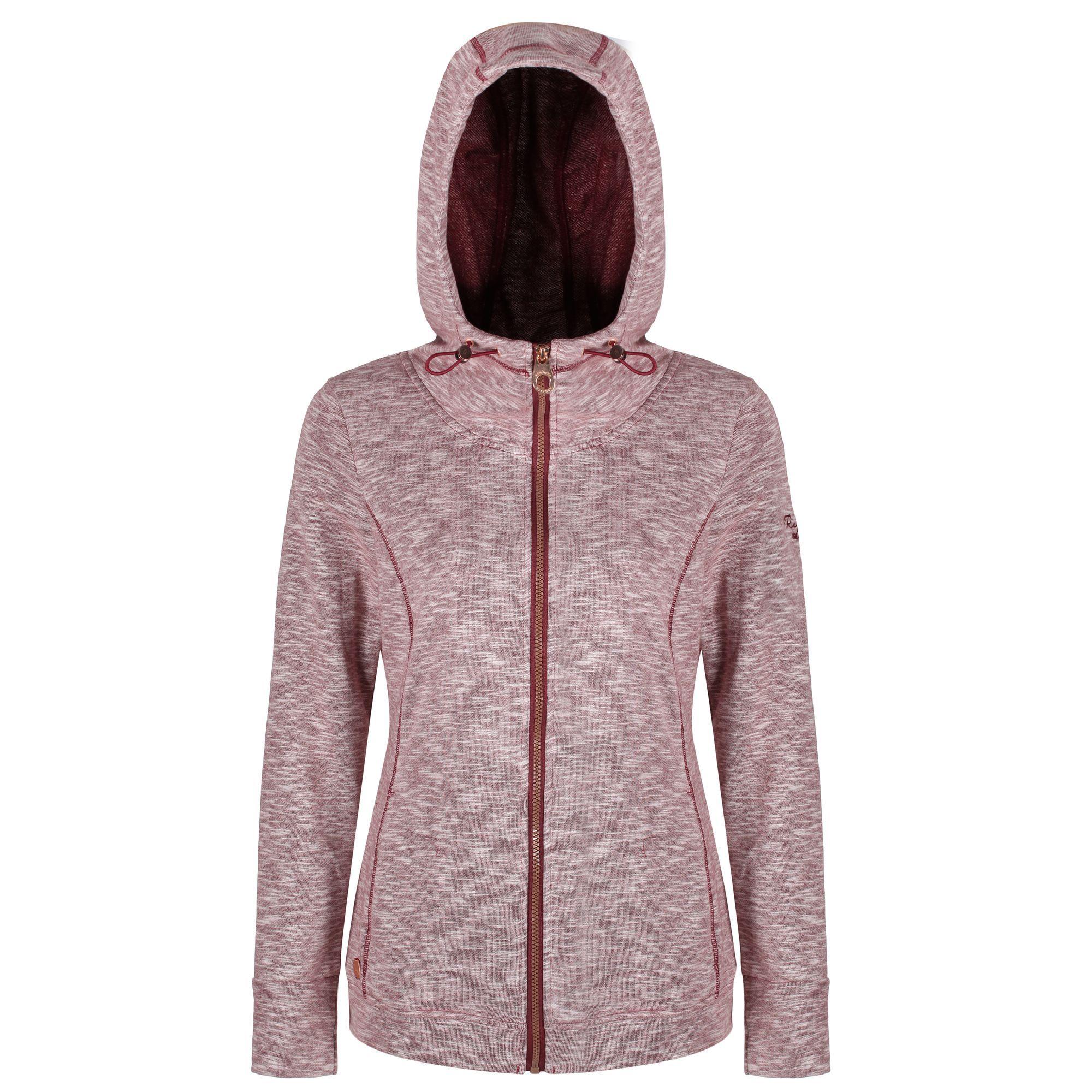 Regatta-Ramosa-Womens-Full-Zip-Hoodie-Hooded-Fleece-Jacket-RRP-50 thumbnail 4