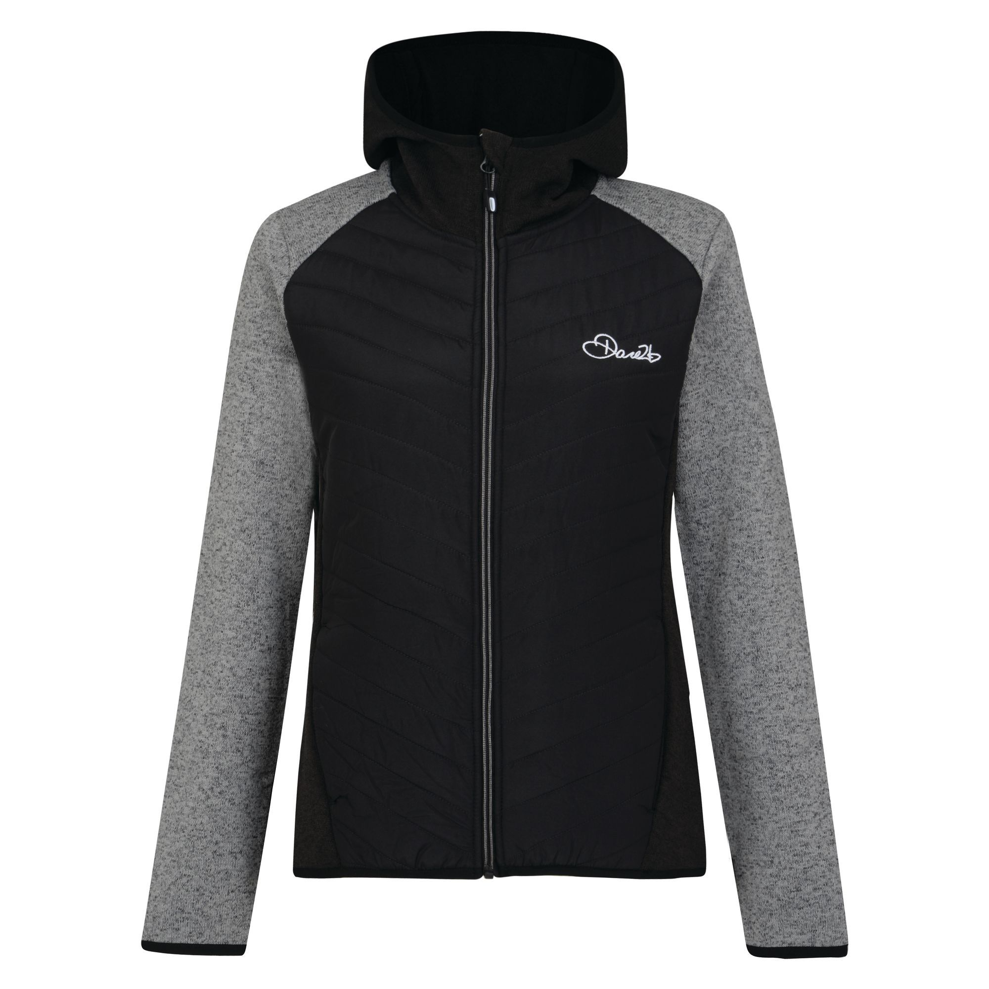 Dare2b-Refinery-Womens-Hybrid-Hooded-Insulated-Water-Repellent-Jacket-RRP-70 thumbnail 10