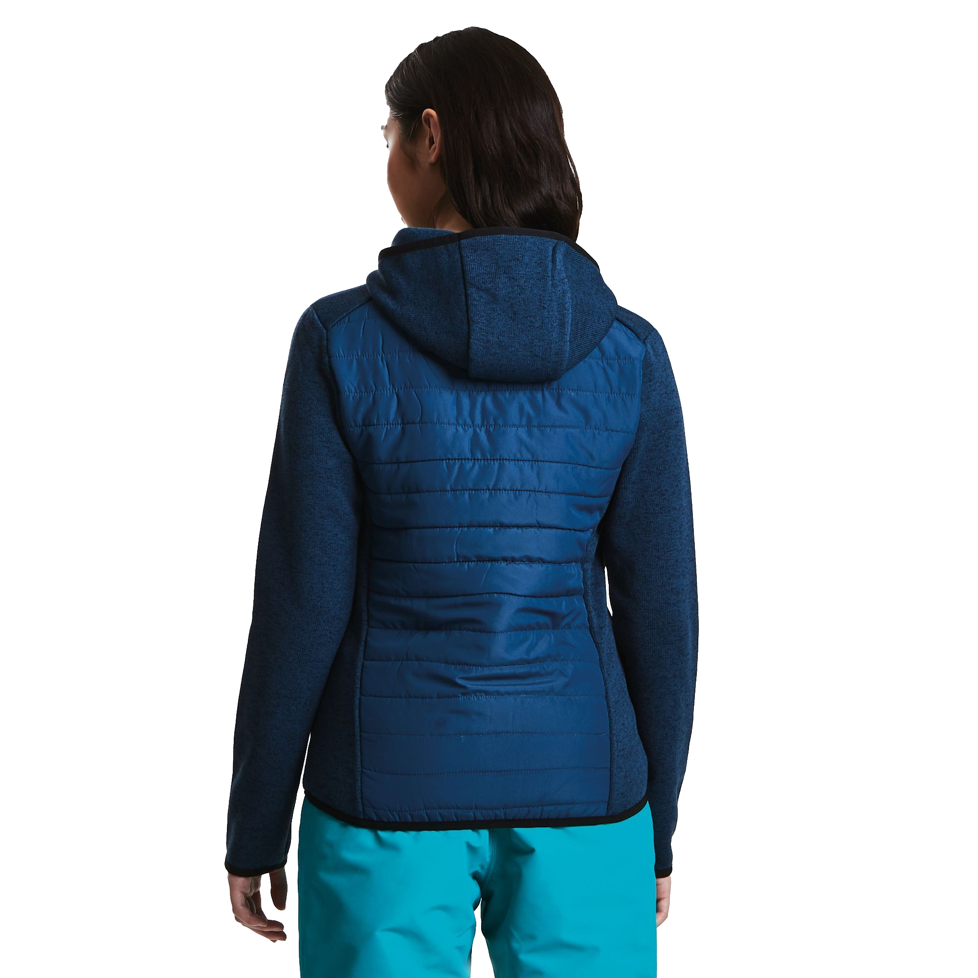 Dare2b-Refinery-Womens-Hybrid-Hooded-Insulated-Water-Repellent-Jacket-RRP-70 thumbnail 3