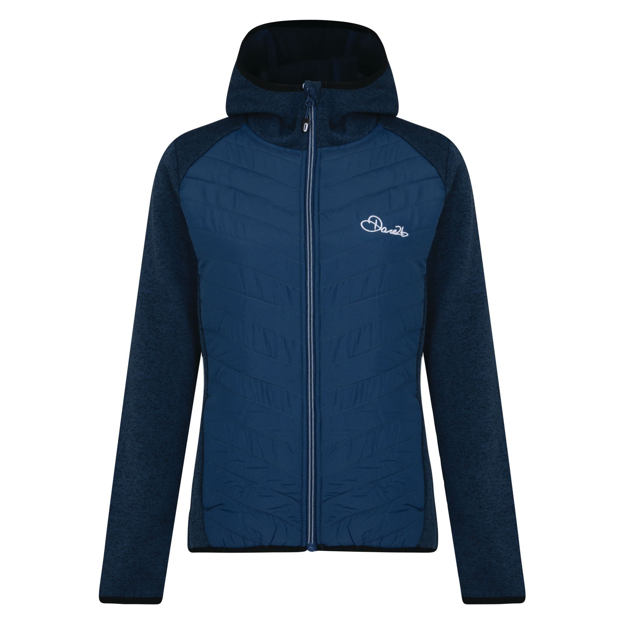 Dare2b-Refinery-Womens-Hybrid-Hooded-Insulated-Water-Repellent-Jacket-RRP-70 thumbnail 4