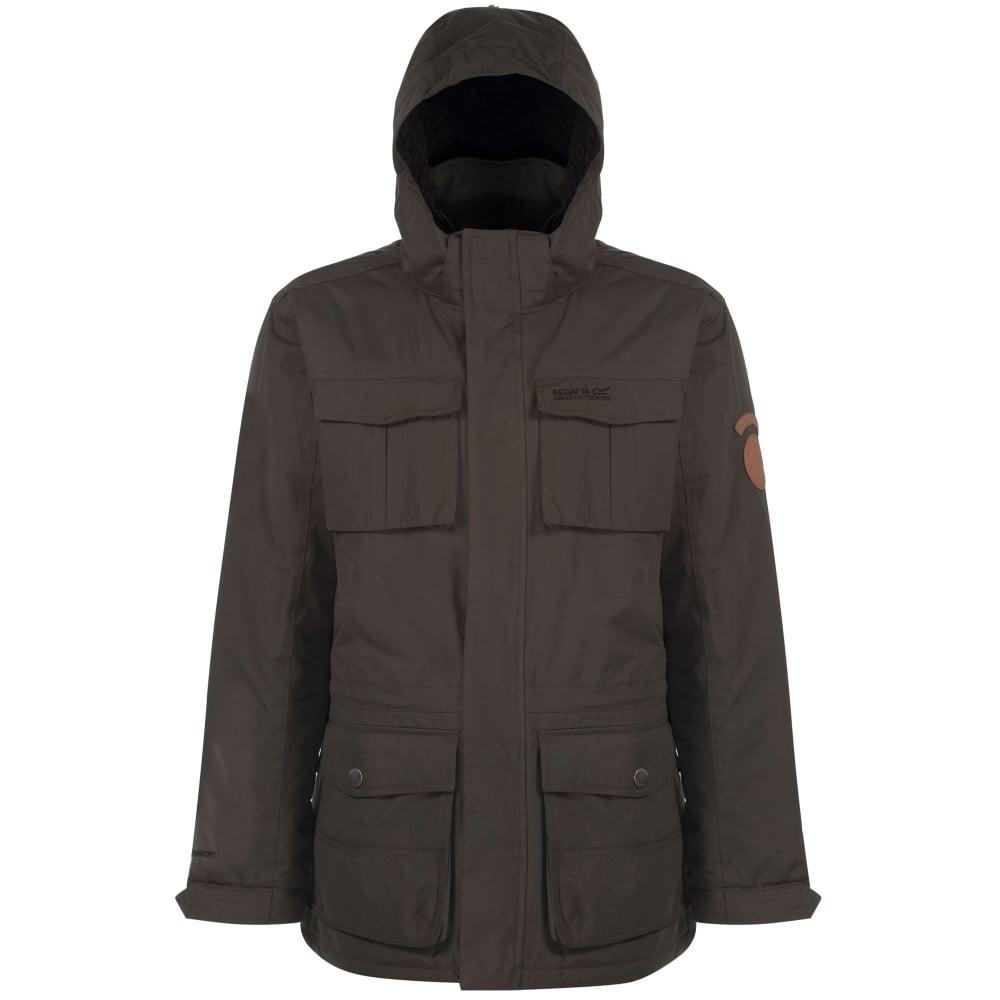 Regatta-Penkar-Mens-Waterproof-Windproof-Sherpa-Lined-Parka-Jacket thumbnail 3