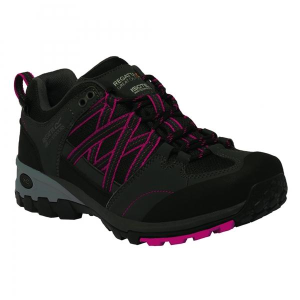 Regatta-Lady-Samaris-Low-Womens-Waterproof-Breathable-Walking-Hiking-Shoes thumbnail 2