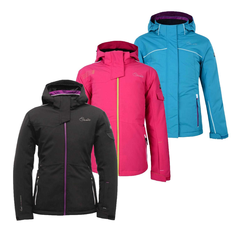 Dare2b Declared Kids Ski Jacket Waterproof Insulated Girls Boys Coat