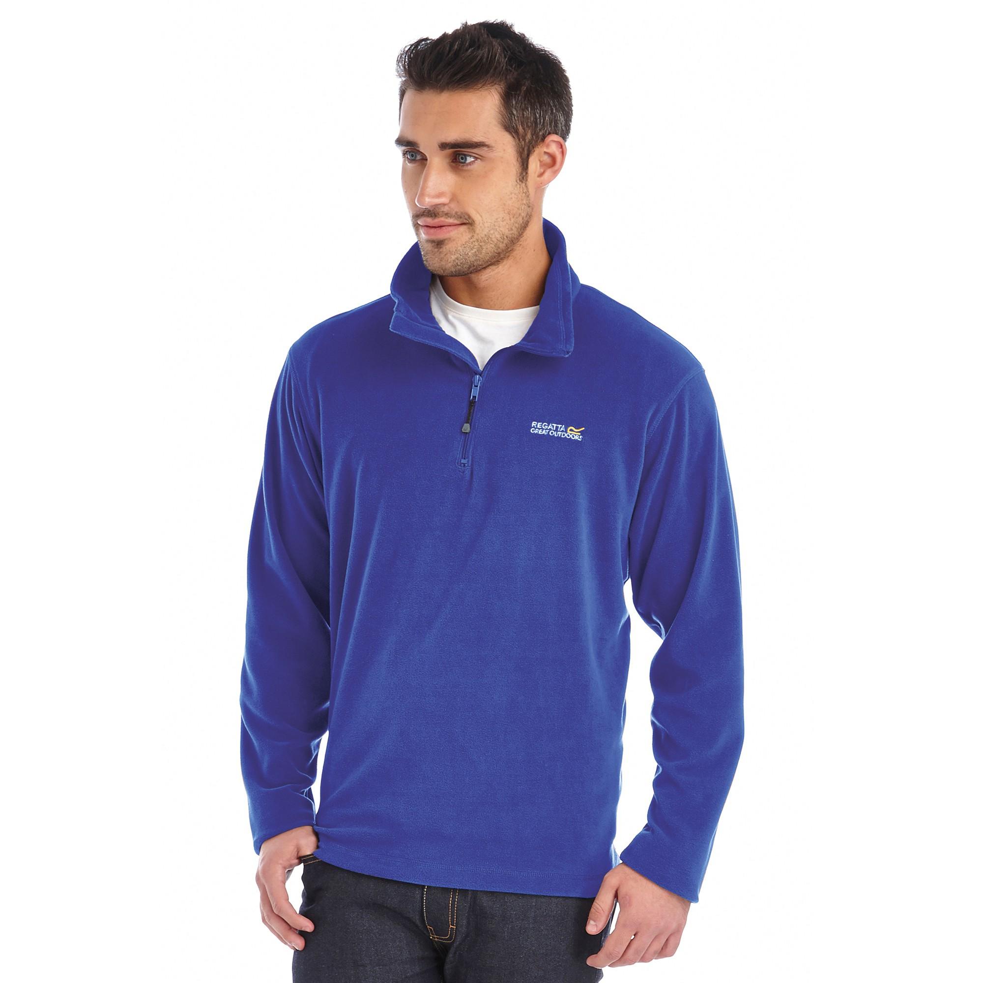 2-x-Regatta-Thompson-Mens-Lightweight-Microfleece-Fleece-Jacket