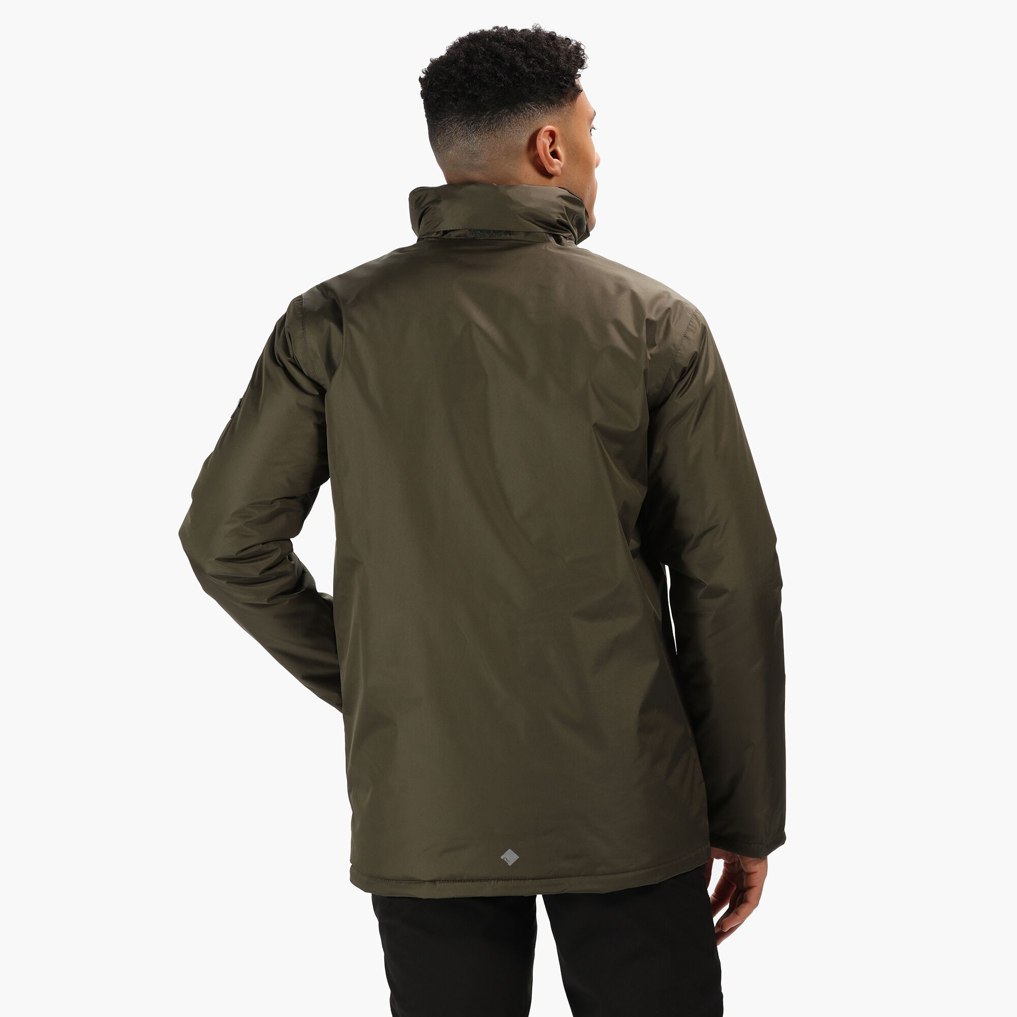 Regatta-Thornridge-Men-039-s-Waterproof-Insulated-Jacket-RRP-70 thumbnail 5