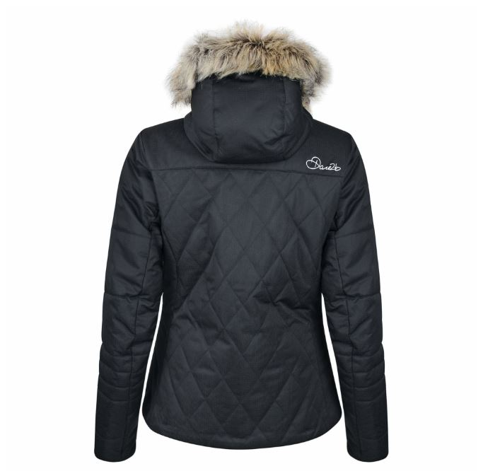 Dare2b-Ornate-Women-039-s-Waterproof-Breathable-Quilted-Ski-Jacket-Coat thumbnail 4