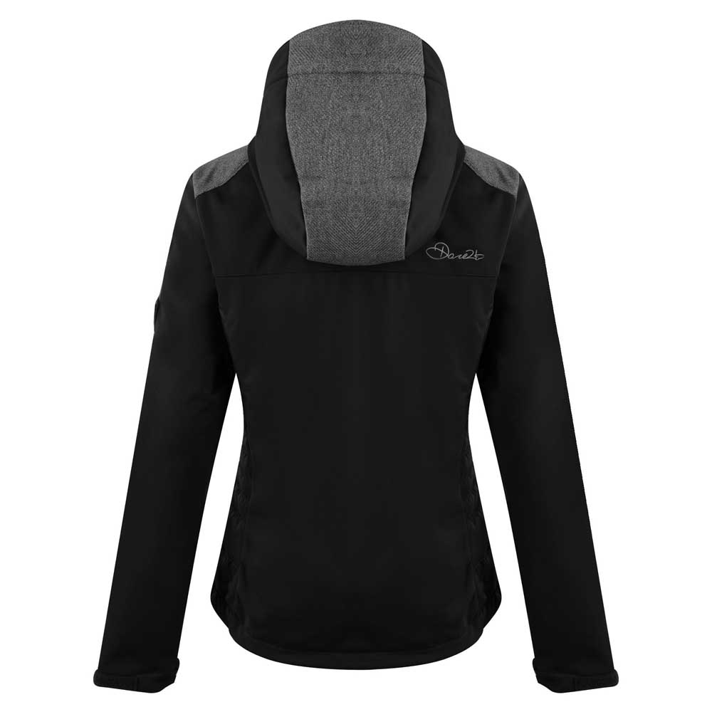 Dare2b-Verify-Womens-Windproof-Water-Repellent-Softshell-Jacket thumbnail 3