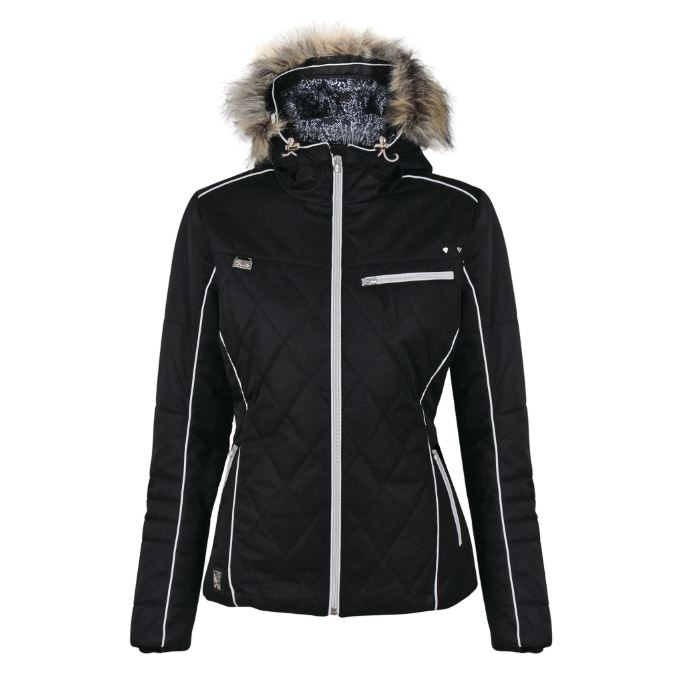 Dare2b-Ornate-Women-039-s-Waterproof-Breathable-Quilted-Ski-Jacket-Coat thumbnail 3