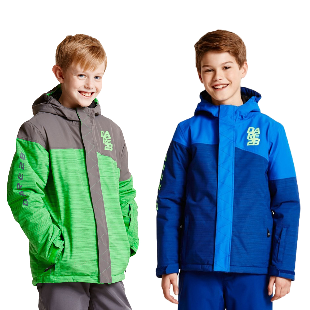 Dare2b Victorious Boys Waterproof Breathable Ared 5000 Jacket