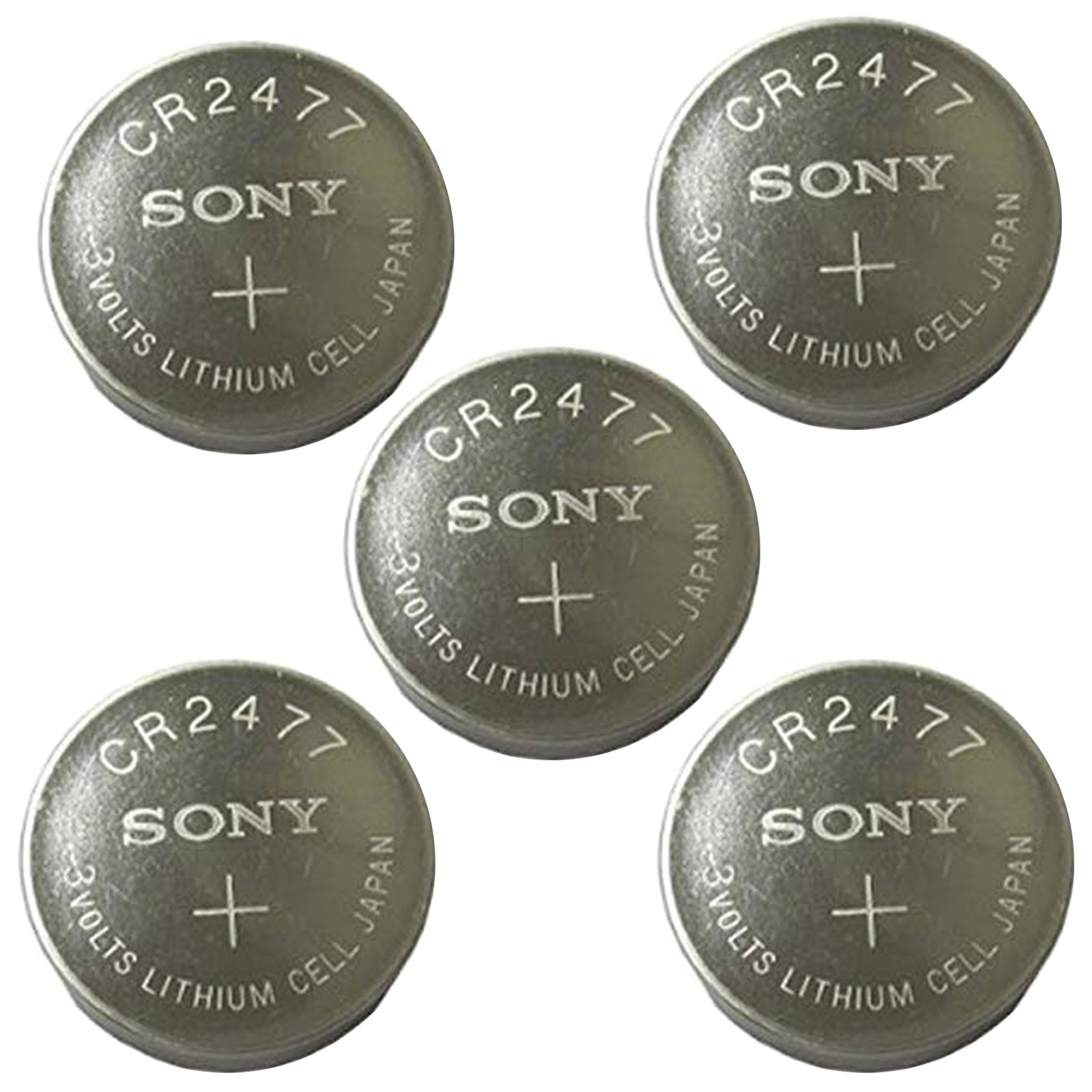 5PK 3V Coin Cell Battery for Remotes KeyFobs Thermometers DL1632 BR1632