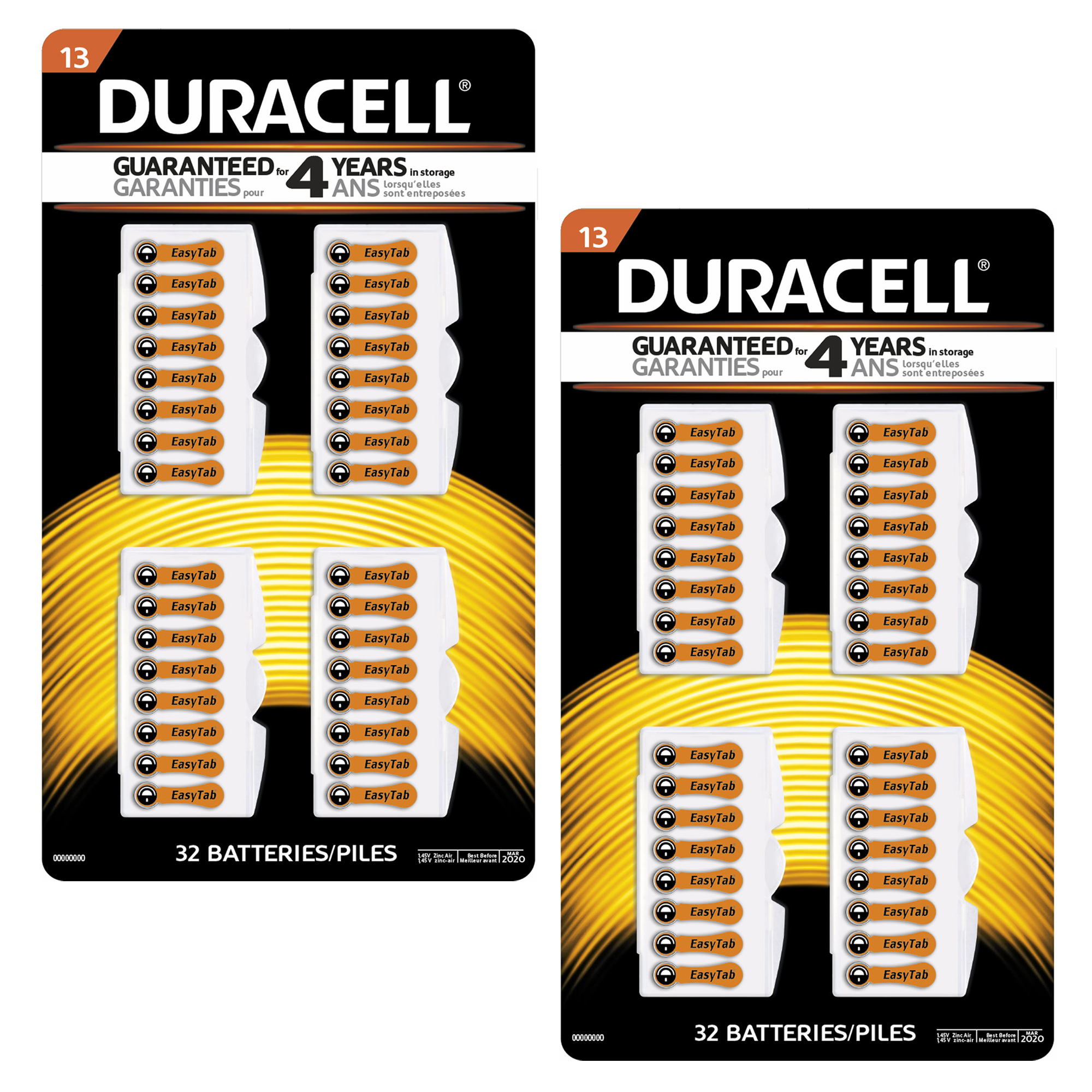 64k duracell size 13 mercury free zinc air hearing aid battery 64k duracell size 13 mercury free zinc air hearing aid battery da13b32zm fandeluxe Choice Image