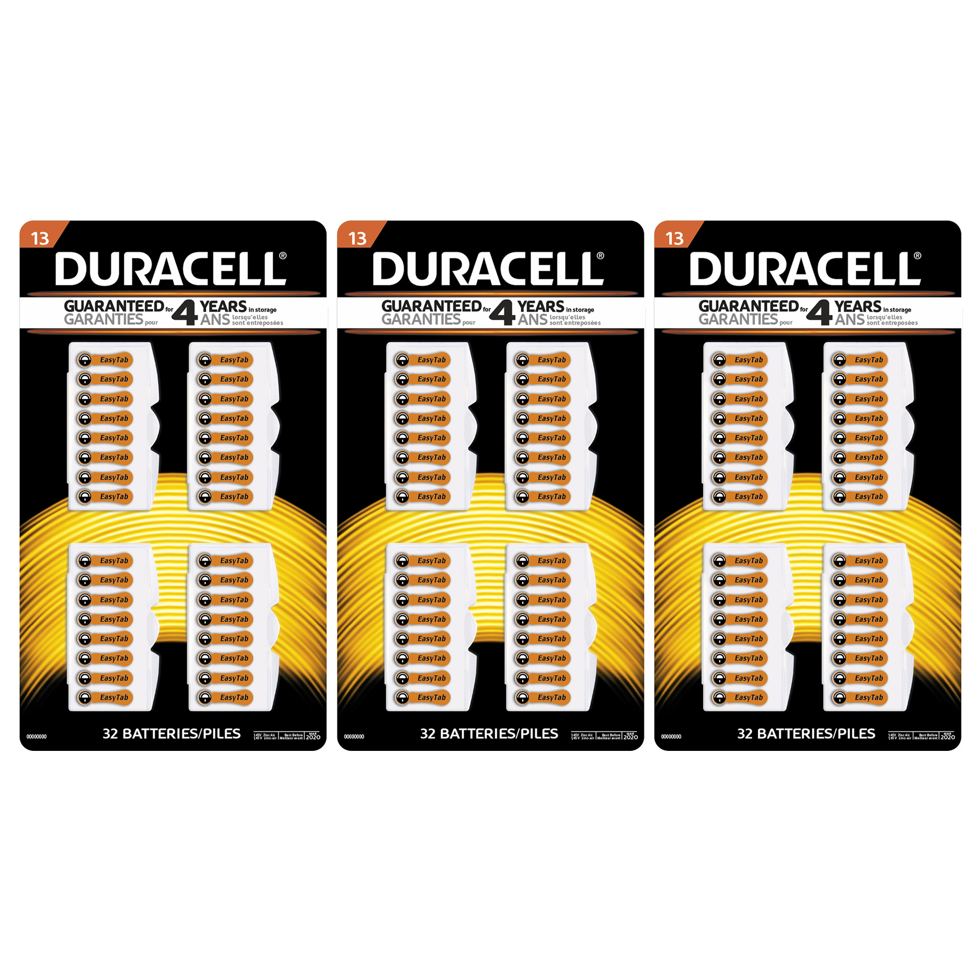 96pk duracell size 13 mercury free zinc air hearing aid battery 96pk duracell size 13 mercury free zinc air hearing aid battery da13b32zm fandeluxe Choice Image
