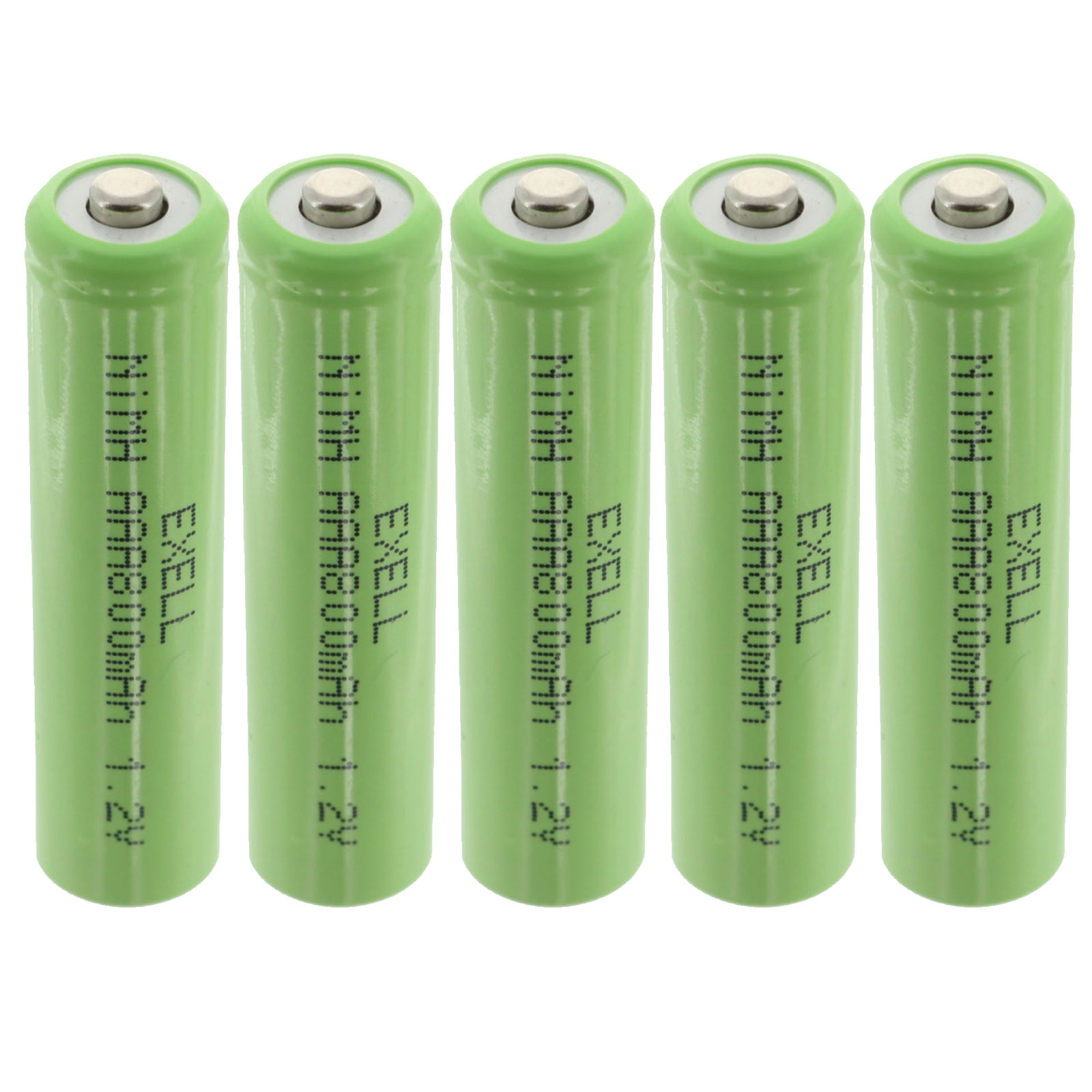 Nimh AA Rechargeable Battery with Button Top for Solar Garden Lights 10PC