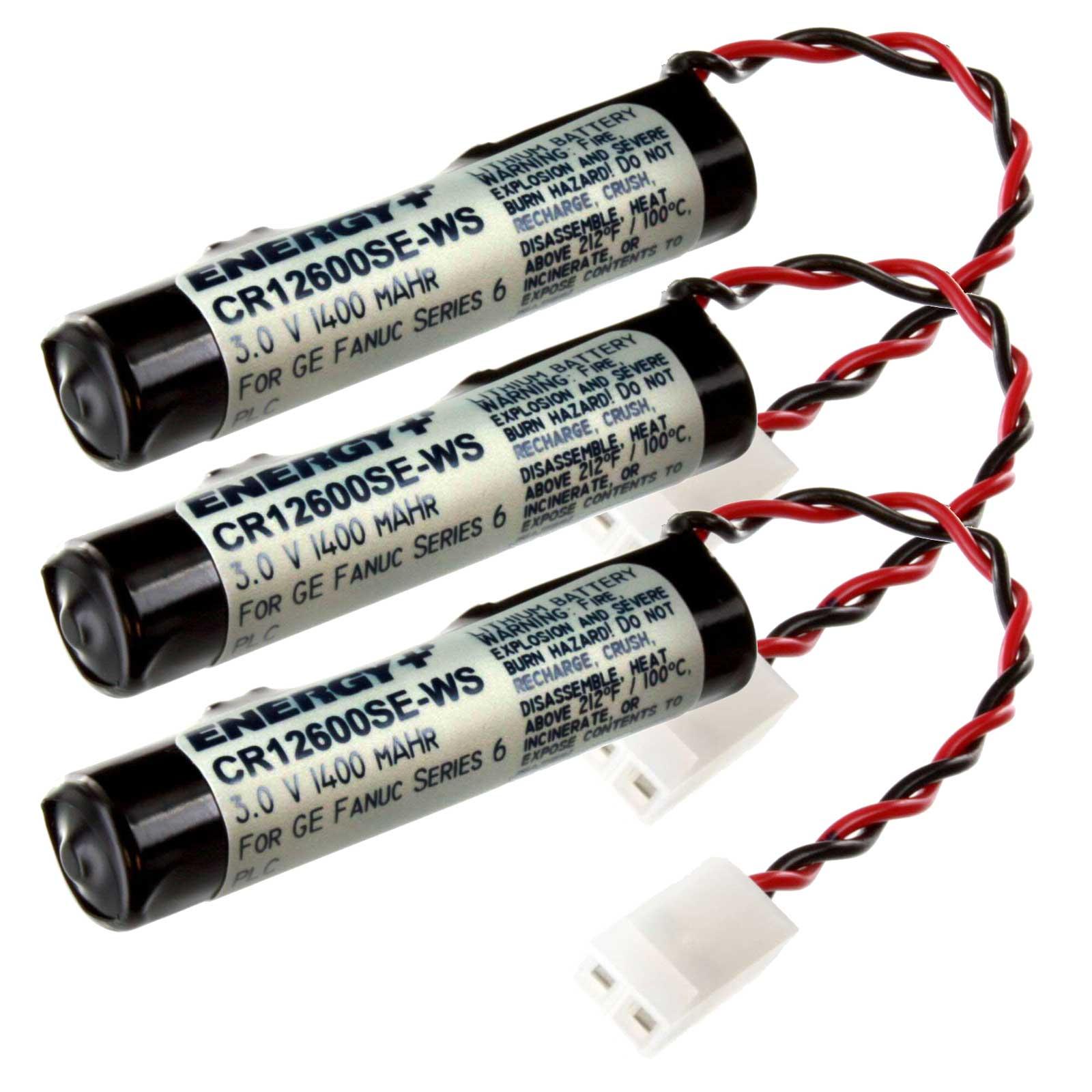Computer Batteries For Ge Fanuc 90-20 90-30 Series Newark 94C0433 FAST USA SHIP