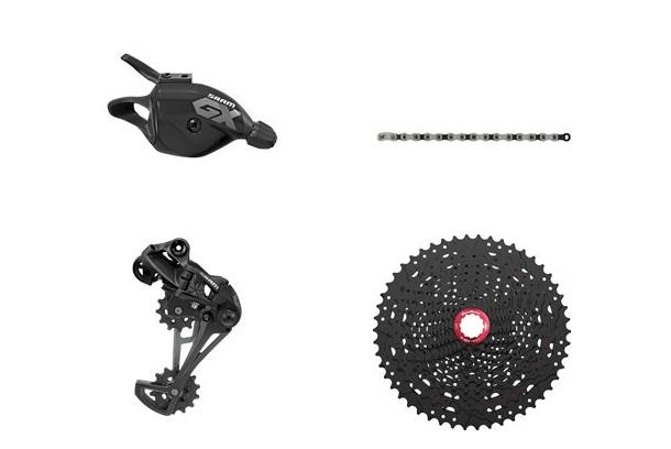 Chain /& SRAM GX Eagle 12-Speed Group w// Shifter Derailleur GX Eagle Groupset