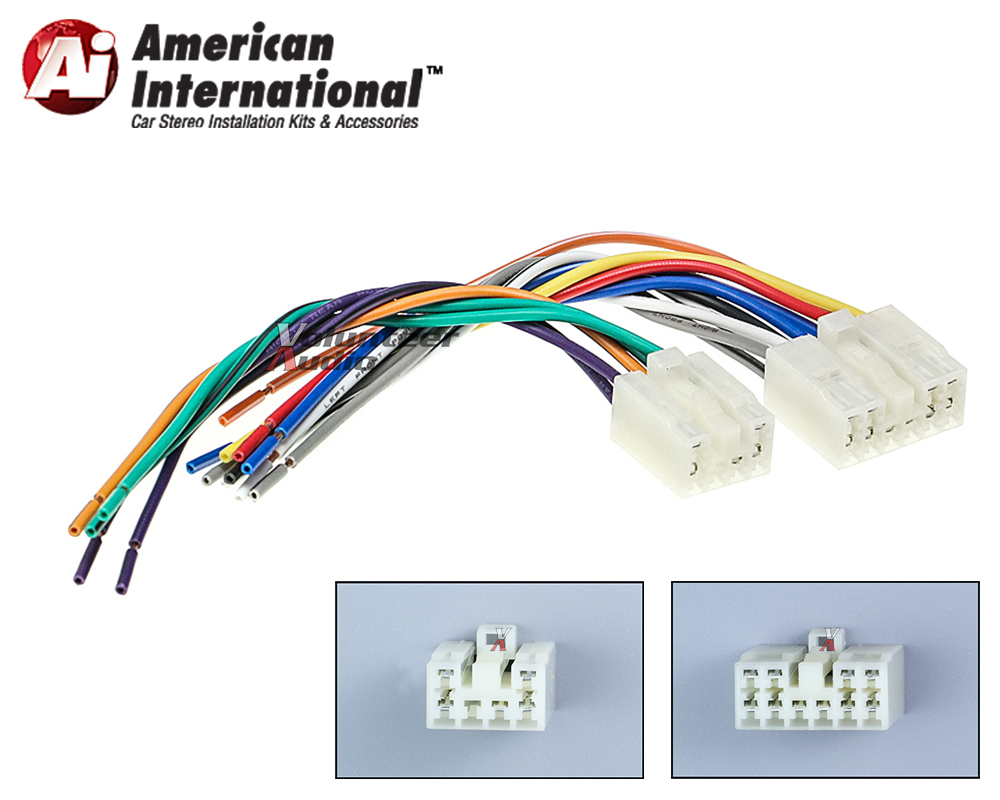 ai_american international_twh951 toyota plugs into factory radio car stereo cd player wiring Toyota Wiring Harness Diagram at nearapp.co