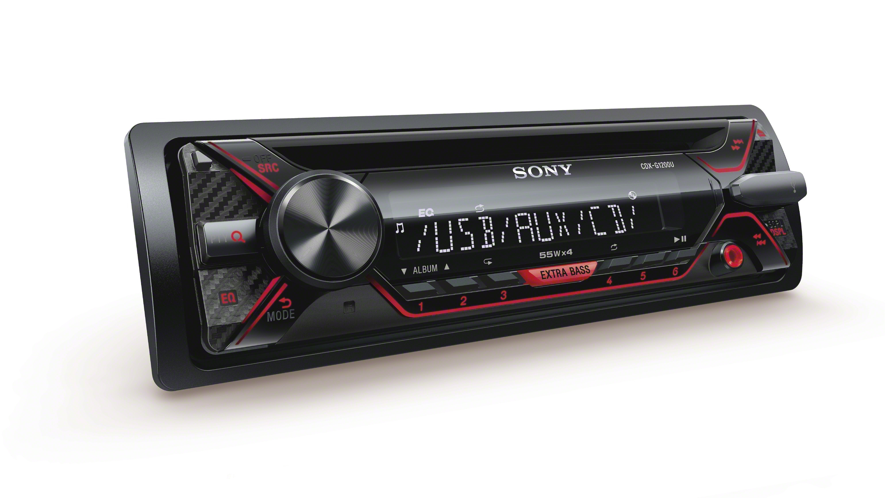 Sony Car Radio Stereo CD Player USB Android AUX FLAC Mp3