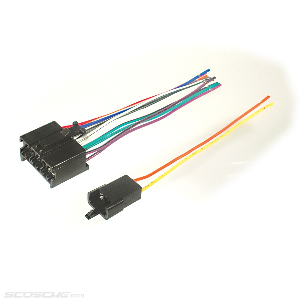 Plugs Into Early GM Factory Radio Car Stereo Wiring Harness Wire ...