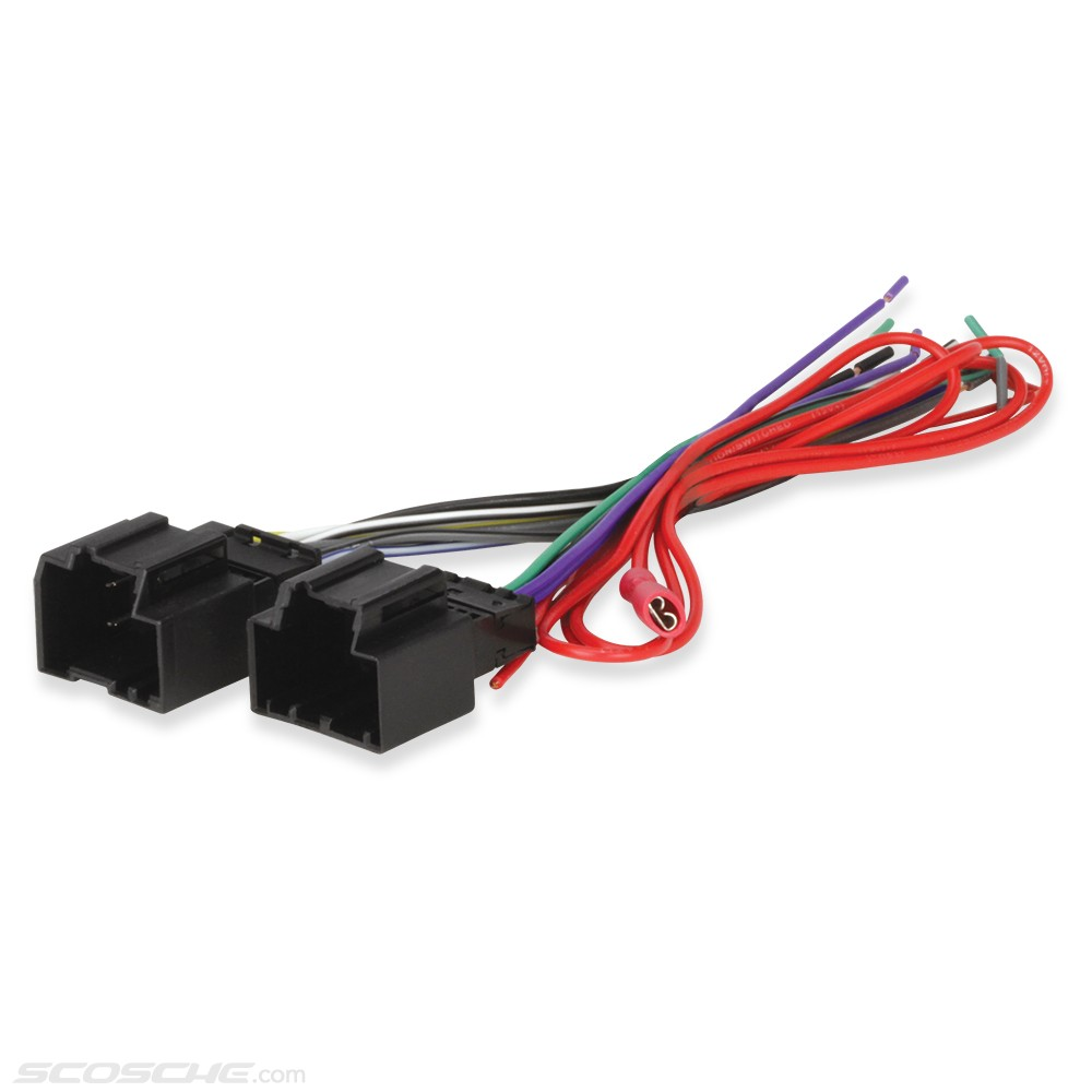 gm40b__1 gm car stereo cd player wiring harness wire aftermarket radio Wall Plug Wiring at bayanpartner.co