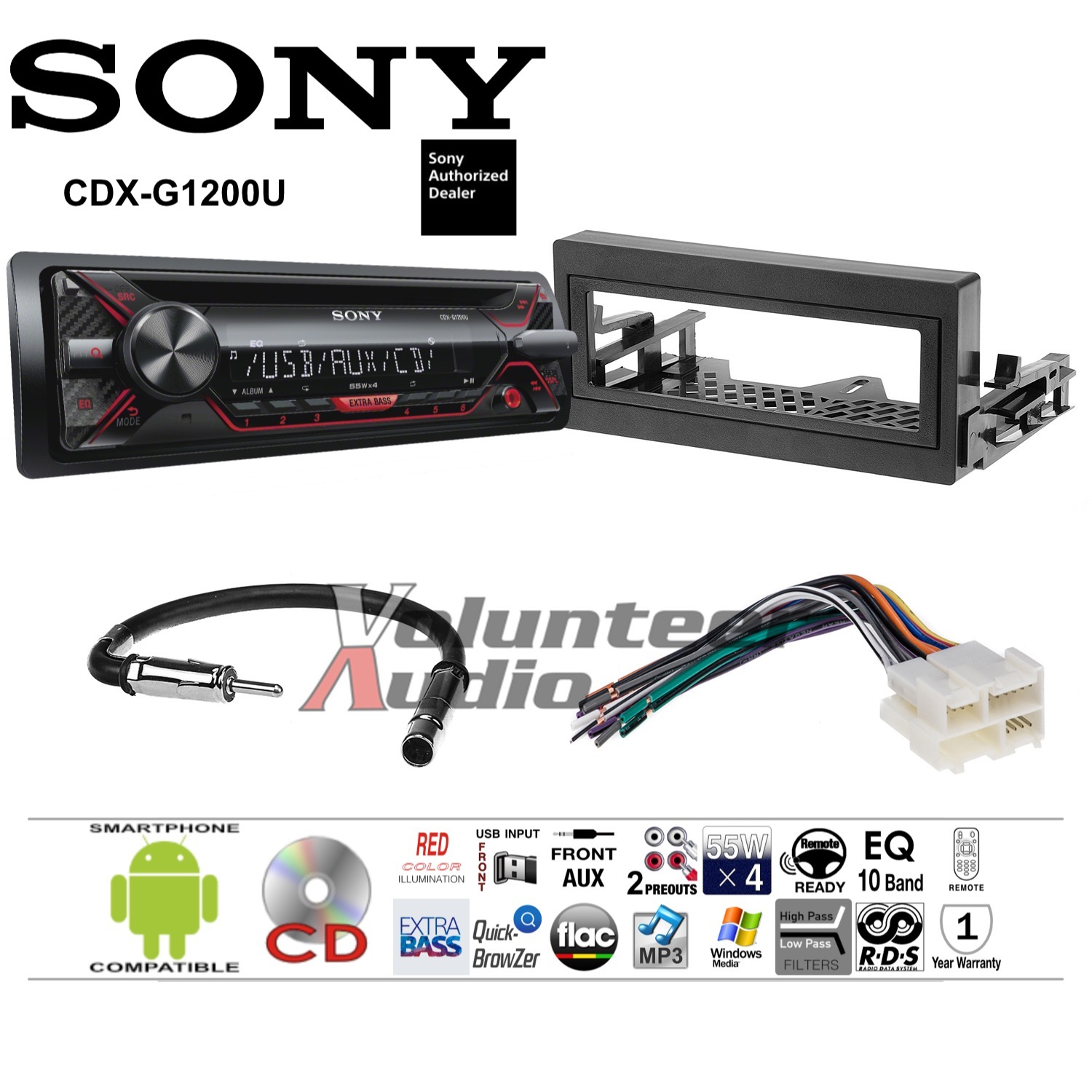 gmk345 gwh344 gm6 cdx g1200u__1 radio harness ebay sony stereo harness at soozxer.org