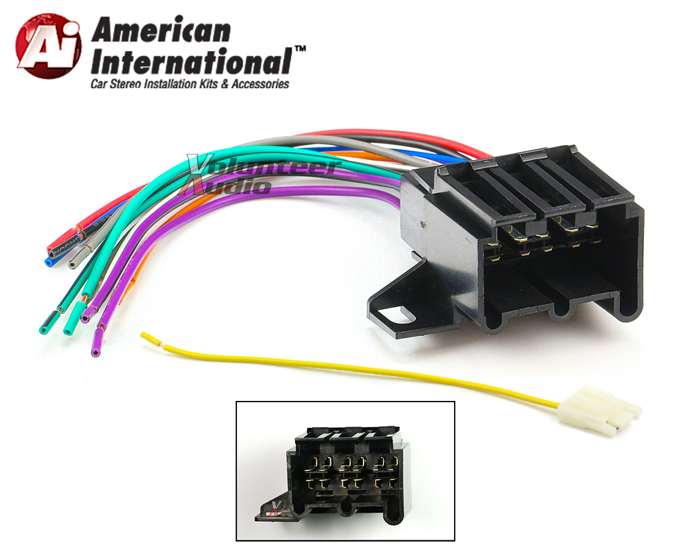 gwh342 marked1 early gm car stereo cd player wiring harness wire aftermarket  at gsmportal.co