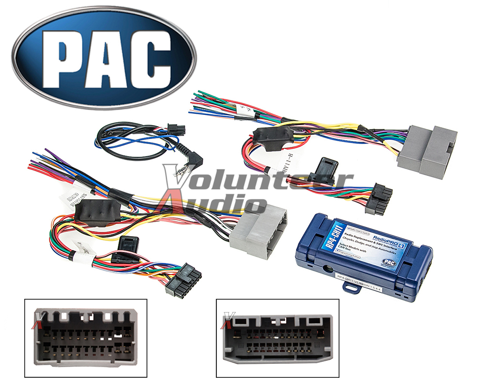 PAC RP4 CH11 Select Chrysler Radio Interface Steering