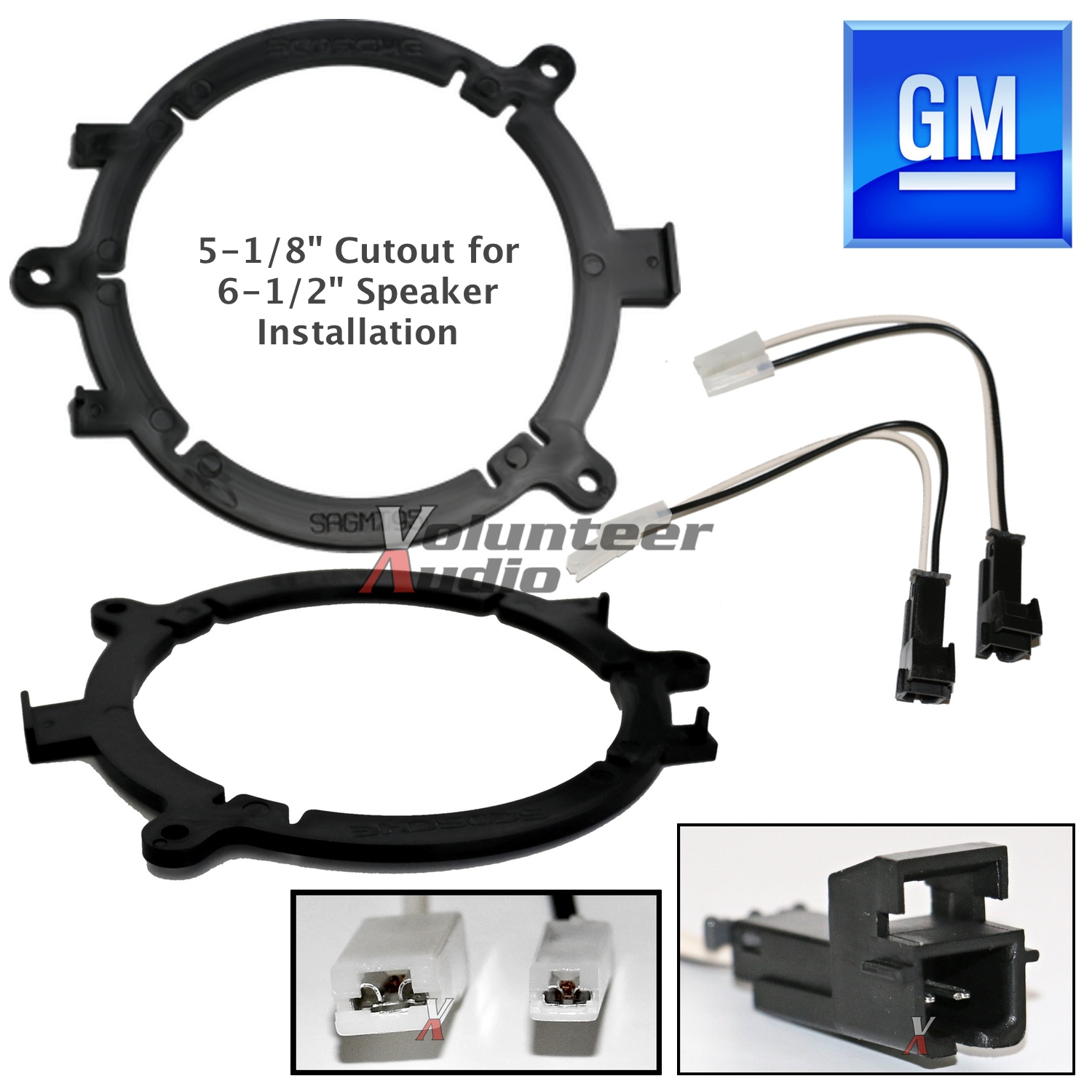 Ai Gmsb345 Shgm03b Gm Speaker Adapter For 1 Pair 65 Speakers Escalade Wiring Harness Links