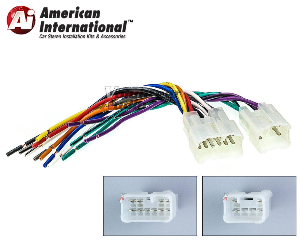twh950 marked1 toyota scion car stereo cd player wiring harness wire aftermarket Wire Harness Assembly at edmiracle.co