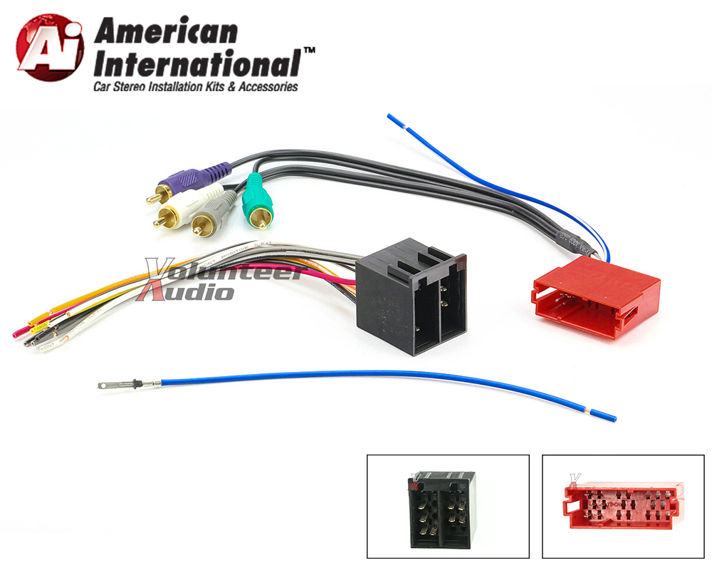 2006 Volkswagen B6 Monsoon Amplifier Harness Wiring Diagramb Vw Amp Wire Diagram Ebay Vwh12a Marked1 At