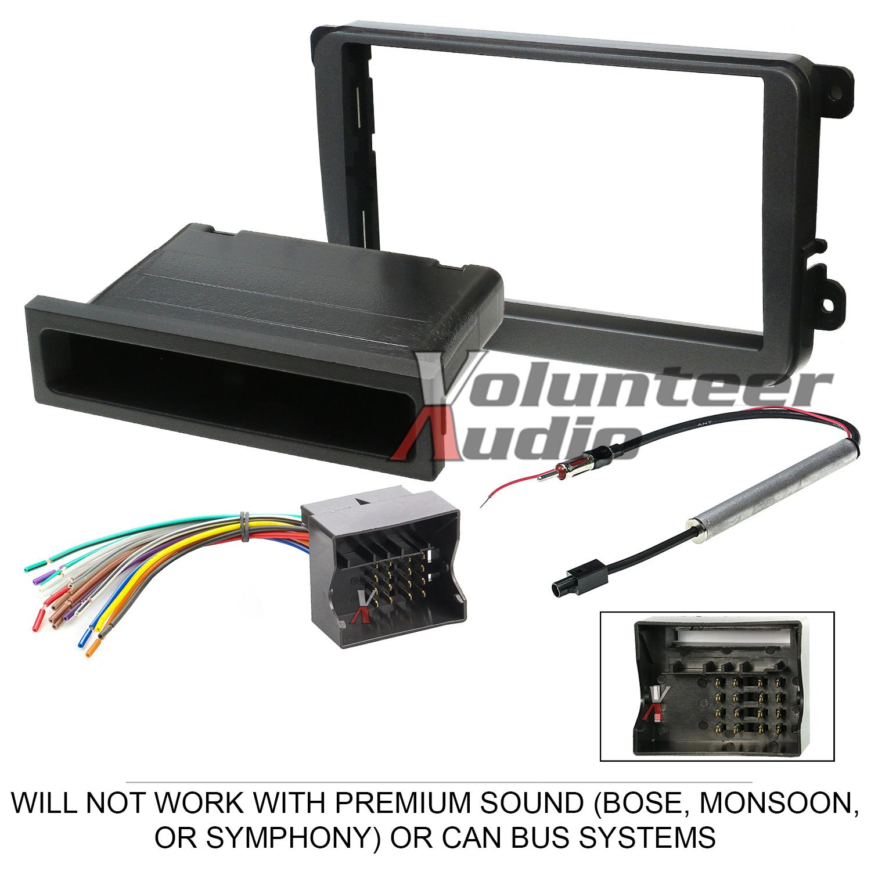 vwk1017 ewh1010 eu08_1 volkswagen car stereo radio dash installation mount bezel trim kit  at bayanpartner.co