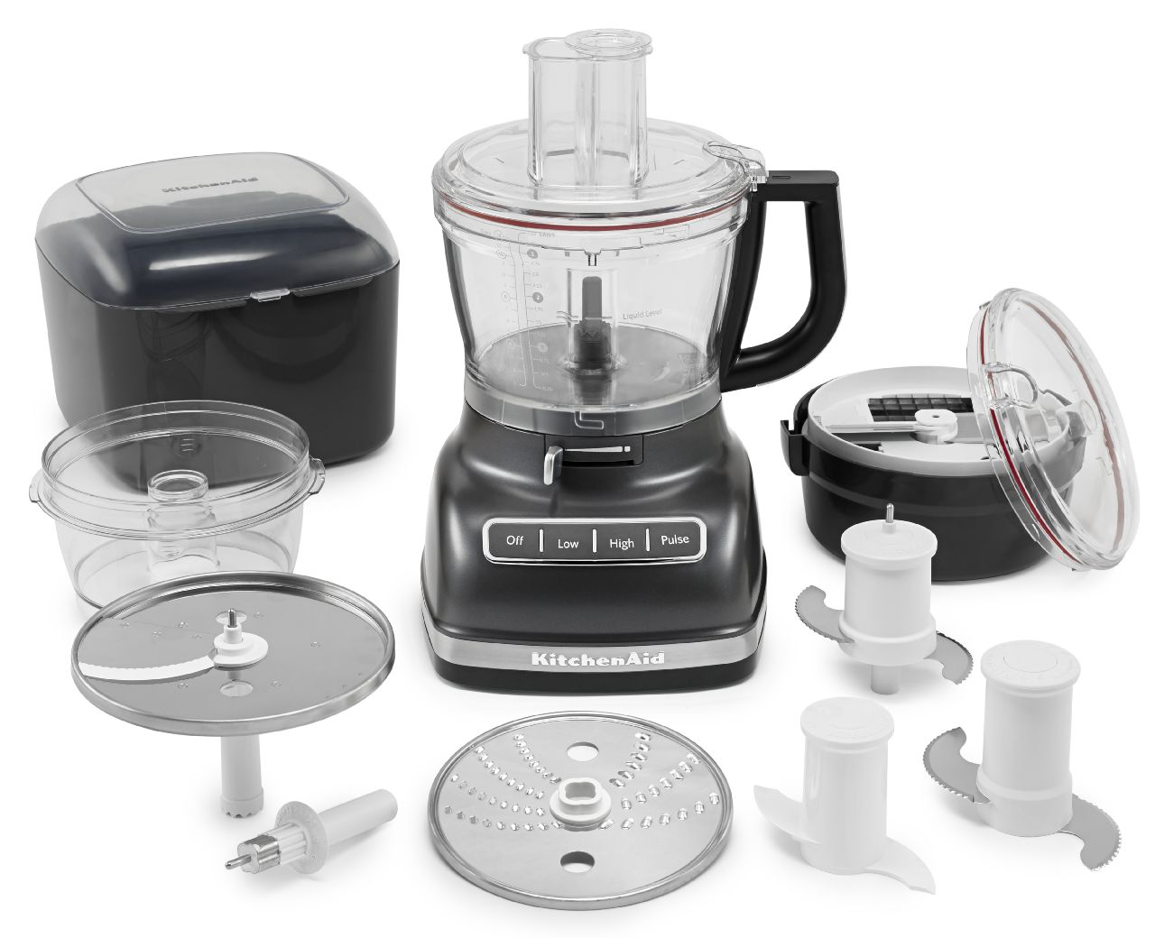 KitchenAid-14-Cup-Food-Processor-with-Commercial-Style-Dicing-Kit-KFP1466 thumbnail 8