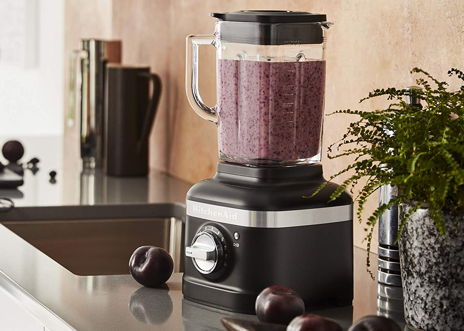 Kitchenaid 5 Speed K400 Blender With 1 5 Peak Hp Motor