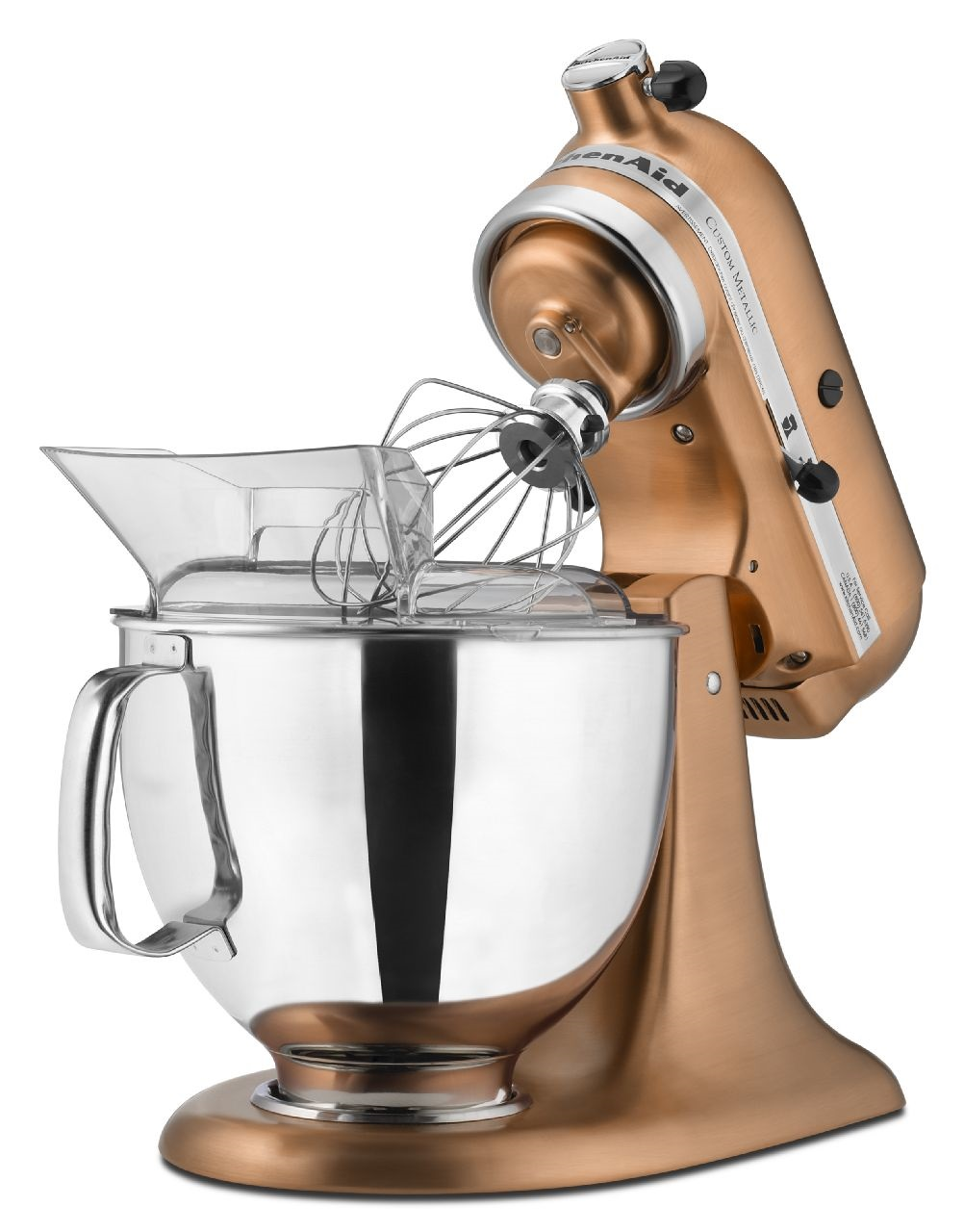 KitchenAid-Custom-Metallic-Series-5-Quart-Tilt-Head-Stand-Mixer-KSM152PS thumbnail 8
