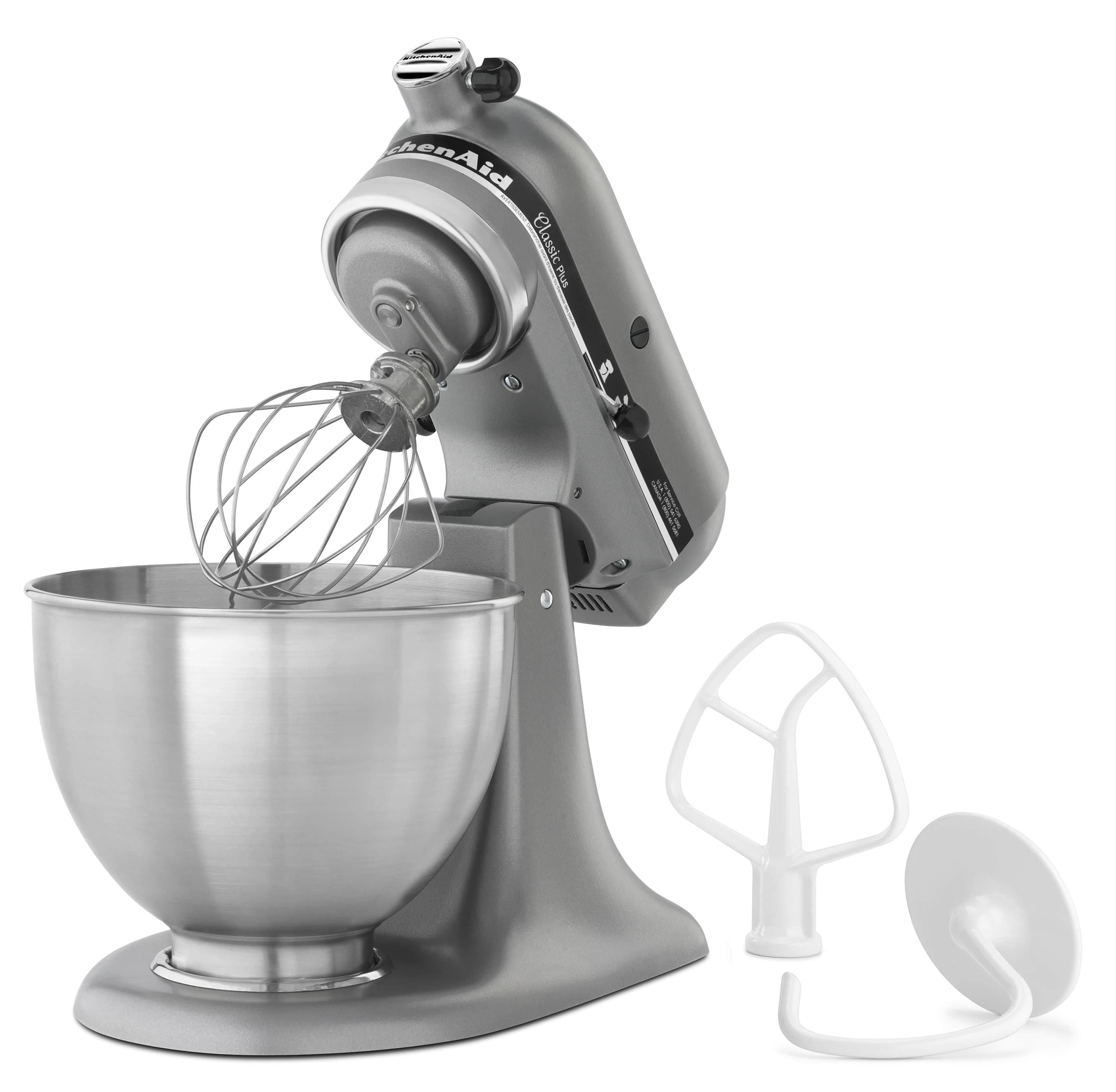 NEW-KitchenAid-Classic-Plus-Series-4-5-Quart-Tilt-Head-Stand-Mixer-KSM75 thumbnail 10