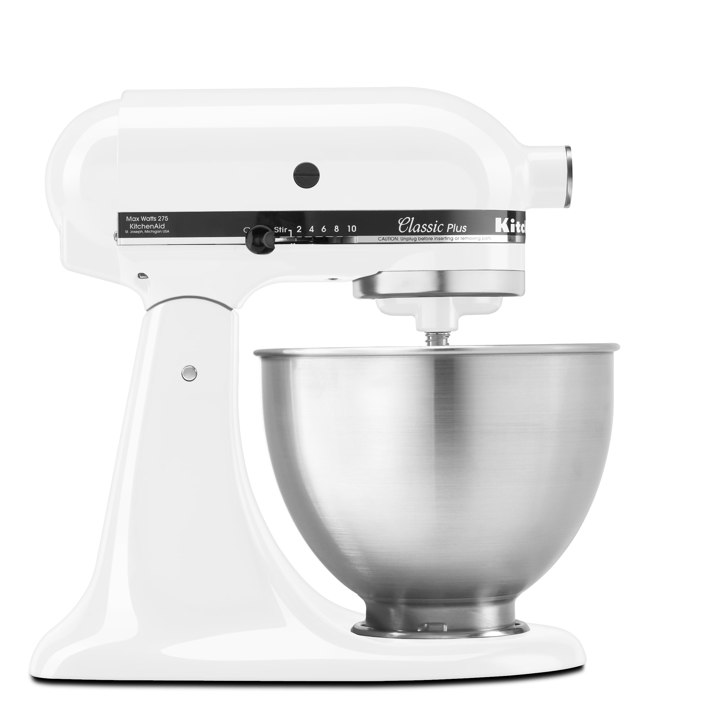 KitchenAid-Classic-Plus-Series-4-5-Quart-Tilt-Head-Stand-Mixer-KSM75 thumbnail 17