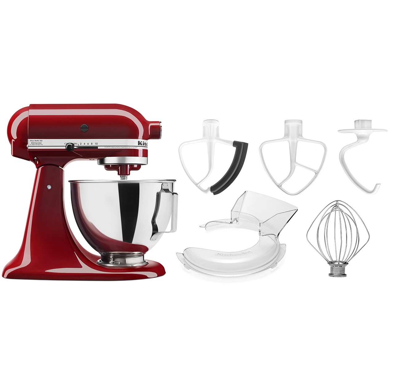 NEW-KitchenAid-4-5-quart-Tilt-Head-Stand-Mixer-w-bowl-with-handle