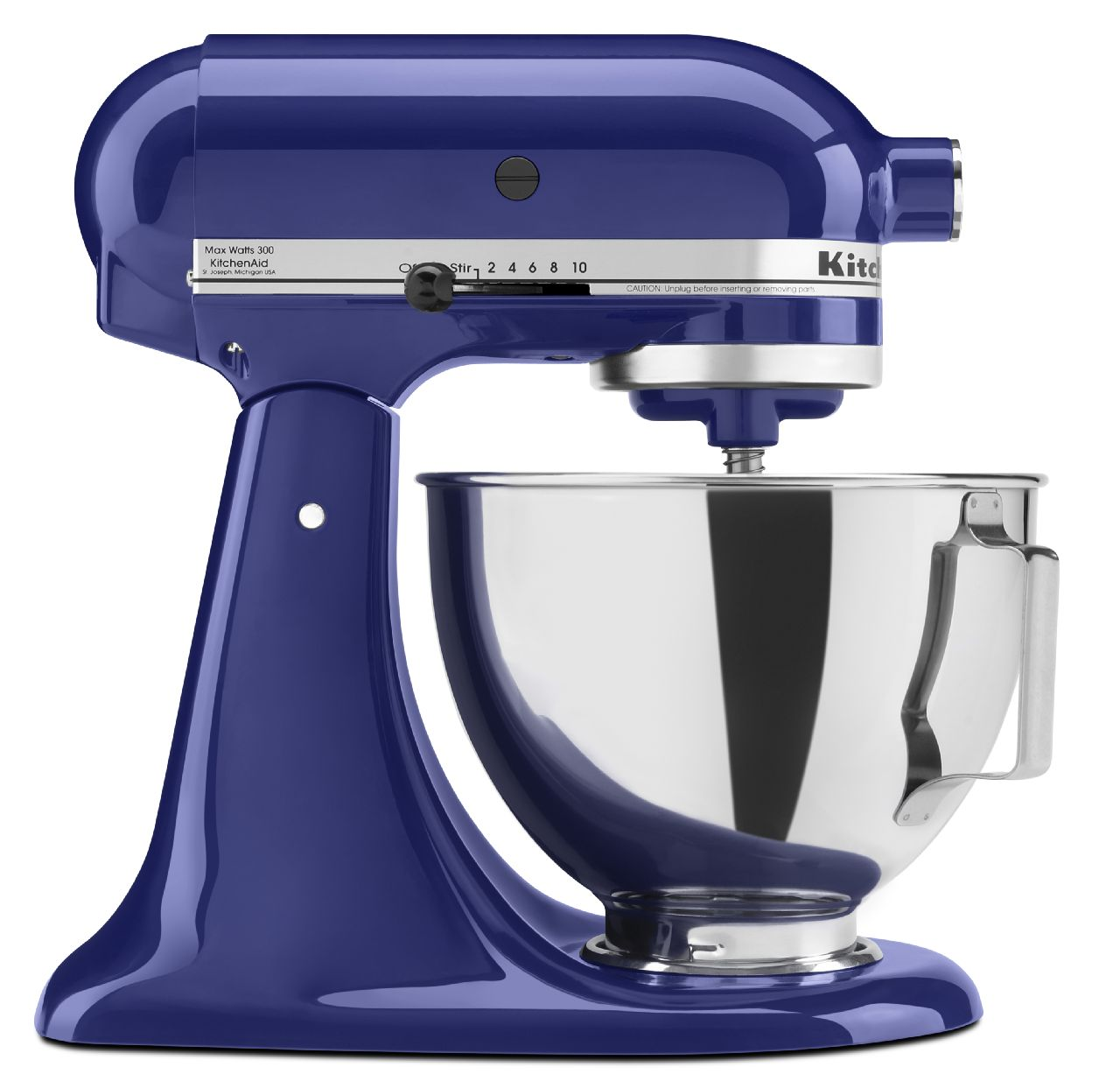 KitchenAid-4-5-quart-Tilt-Head-Stand-Mixer-with-Flex-Edge-Beater-KSM85PSQ thumbnail 3