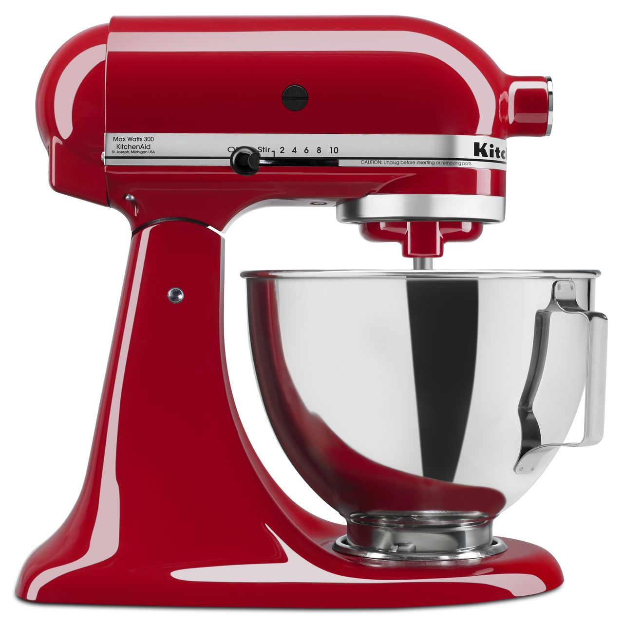 KitchenAid-4-5-quart-Tilt-Head-Stand-Mixer-with-Flex-Edge-Beater-KSM85PSQ thumbnail 7