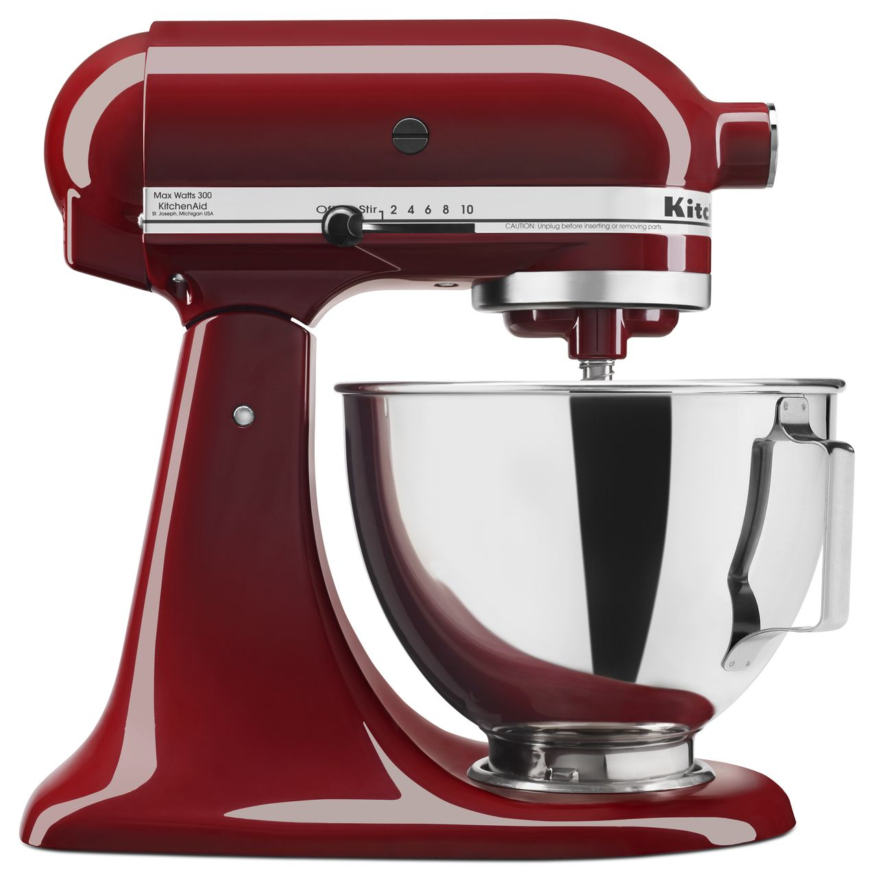 KitchenAid-4-5-quart-Tilt-Head-Stand-Mixer-with-Flex-Edge-Beater-KSM85PSQ thumbnail 11