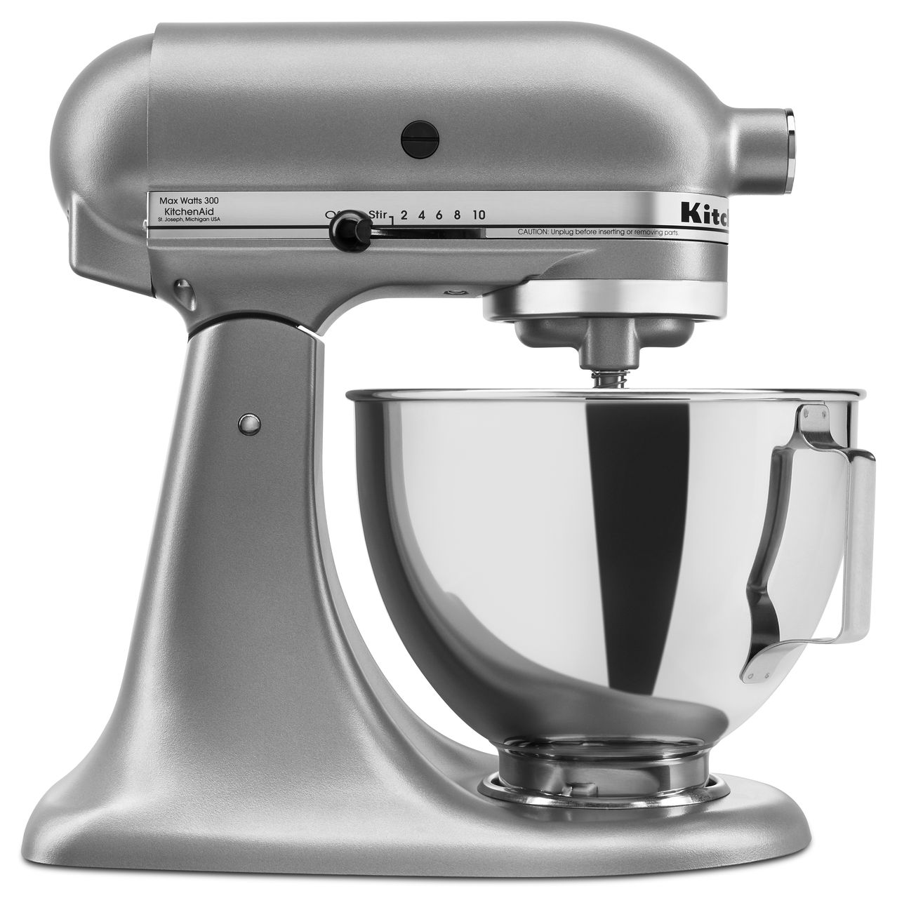 KitchenAid-4-5-quart-Tilt-Head-Stand-Mixer-with-Flex-Edge-Beater-KSM85PSQ thumbnail 27